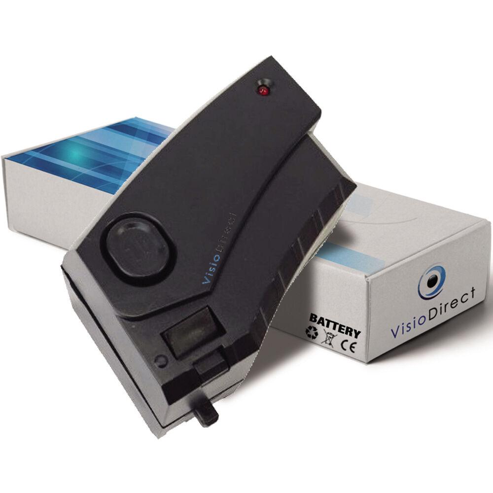Batterie 4.8V 2000mAh pour Karcher 12585050 - Société Française -