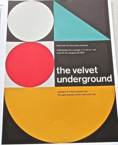 The Velvet Underground -Rock and Roll Band Mini-Poster 13x10-Framable Artwork