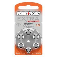 RAYOVAC Extra Mercury Free protesi auditiva BATTERIE allegati al taglia 13-PREZZO ECCEZIONALE