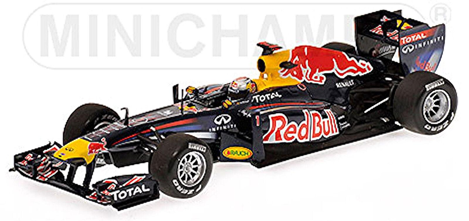 Red Bull Racing Renault rb7 Sebastian ciabatta #1 WINNER Malaysian GP 1:43 MINICHA