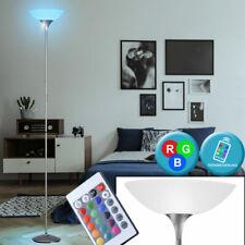 RGB LED Steh Lampe Dimmer Fernbedienung Decken Fluter Dimmer Stand Leuchte titan