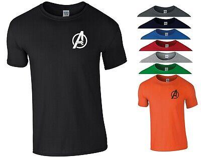 Avengers Endgame T Shirt Thanos Iron Man Hulk MCU Marvel Fans Gift Men Tee Top
