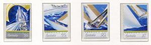40102-Australia-1987-MNH-Americas-Cup-4v