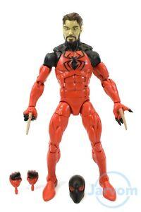 """Marvel Legends 6/"""" Inch SP////dr BAF Wave Scarlet Spider Loose Complete"""