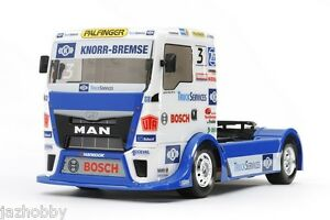Tamiya-58632-1-14-RC-Car-TT01E-Chassis-Team-Hahn-Racing-Truck-MAN-TGS-2016-w-ESC