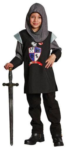 Jungen Karneval Fasching Verkleidung Ko Ritter schwarze Lanze Kinderkostüm NEU