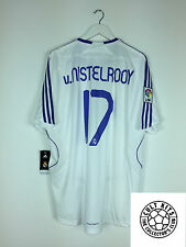 Real Madrid v.NISTELROOY #17 07/08 *BNWT* Home Football Shirt (XL) Soccer Jersey