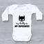My Daddy Is My Superhero Cute Funny Unisex Baby Grow Bodysuit
