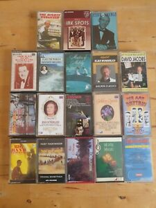 audio music cassette tapes bundle joblot x 18 as pictured mct14