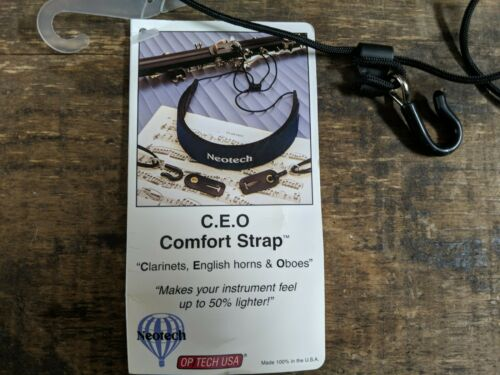Navy Cor Anglais Oboe Neotech CEO Comfort Strap for Clarinet