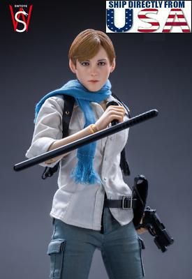 Usa Priority Shipping 1 6 Sherry Birkin Resident Evil 6 Fs017 Female Figure Set