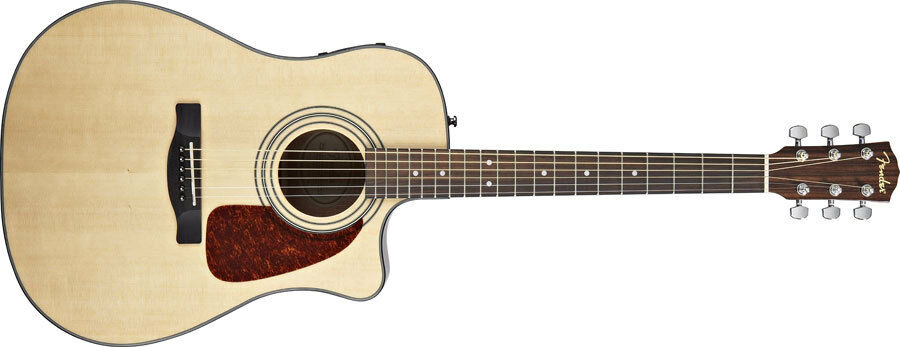 Fender Acoustic Electric Guitar CD-140SCE  Electro Acoustic Cutaway NATURAL NEW