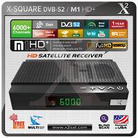 X2 M1 Hd+ Fta Dvb-s2 Pvr Mini Hd Satellite Receiver - Version