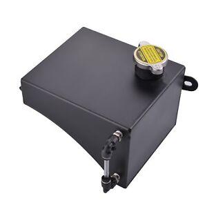 Aluminium-Header-Overflow-Tank-Water-Coolant-Bottle-for-Nissan-180SX-S13-Black