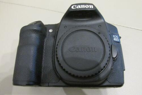 1 of 1 - Canon EOS 40D 10.1MP Digital SLR Camera - Black (Body Only) - PLEASE READ!