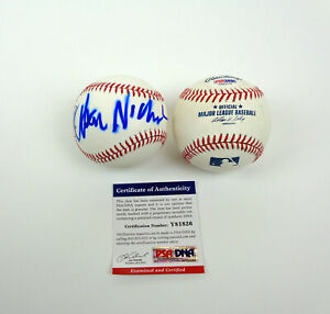 Jack Nicholson The Shining Chinatown Signed Autograph MLB Baseball PSA/DNA COA