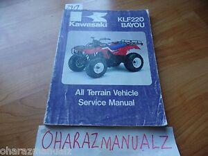 1988-KAWASAKI-KLF2200-Bayou-OEM-Service-Manual