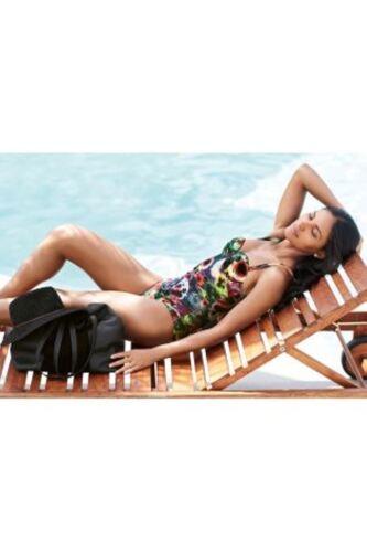 BNWT NEXT Multi Floral Tummy Control Swimming Costume Swimsuit Size 34B 34 B