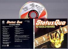 STATUS QUO - 12 Gold Bars CD (Digipack Remasterd) RARE IMPORT