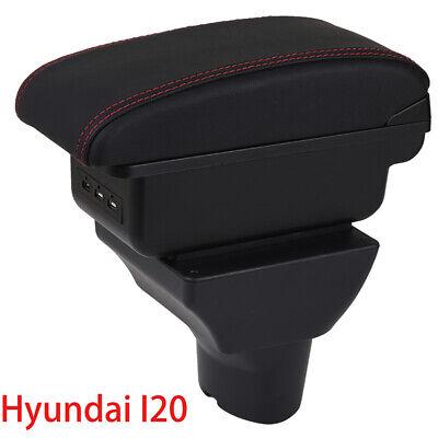 For H yundai I30 2008-2013 Car Armrest Center Console Accessories Arm Rest Black