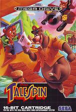 ## Tale Spin (Disney) - SEGA Mega Drive / MD Spiel - TOP ##