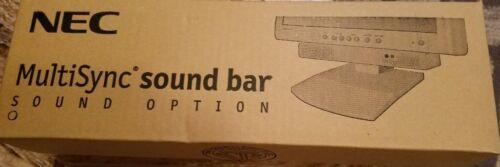 White NEC MultiSync Sound bar Sound Option freeshp //Buy box of 10 for $169.99