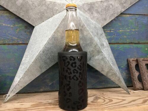 Brumate Hopsulator Bottle Insulated Bottle Cooler in Onyx Leopard