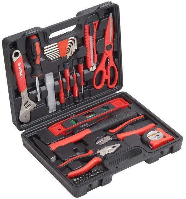 Meister Haushaltskoffer 44-teilig, Werkzeugkoffer , 8971430