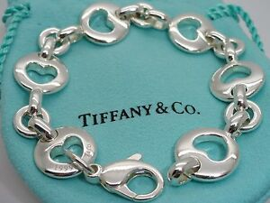 ad07fa1b81ac5 Details about Tiffany & Co. Sterling Silver 7