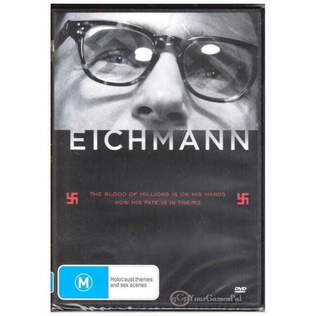 DVD EICHMANN ADOLF Thomas Kretschmann WW2 Holocaust Nazi War Crimes R4 [BNS]