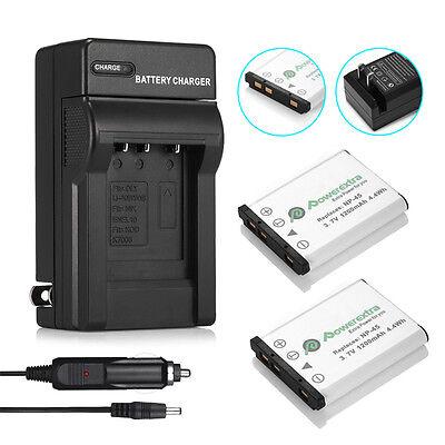 NP-45 Cargador de Batería para Fuji FinePix JX400 JX405 JX420 JX440 JX500 JX510 JX520