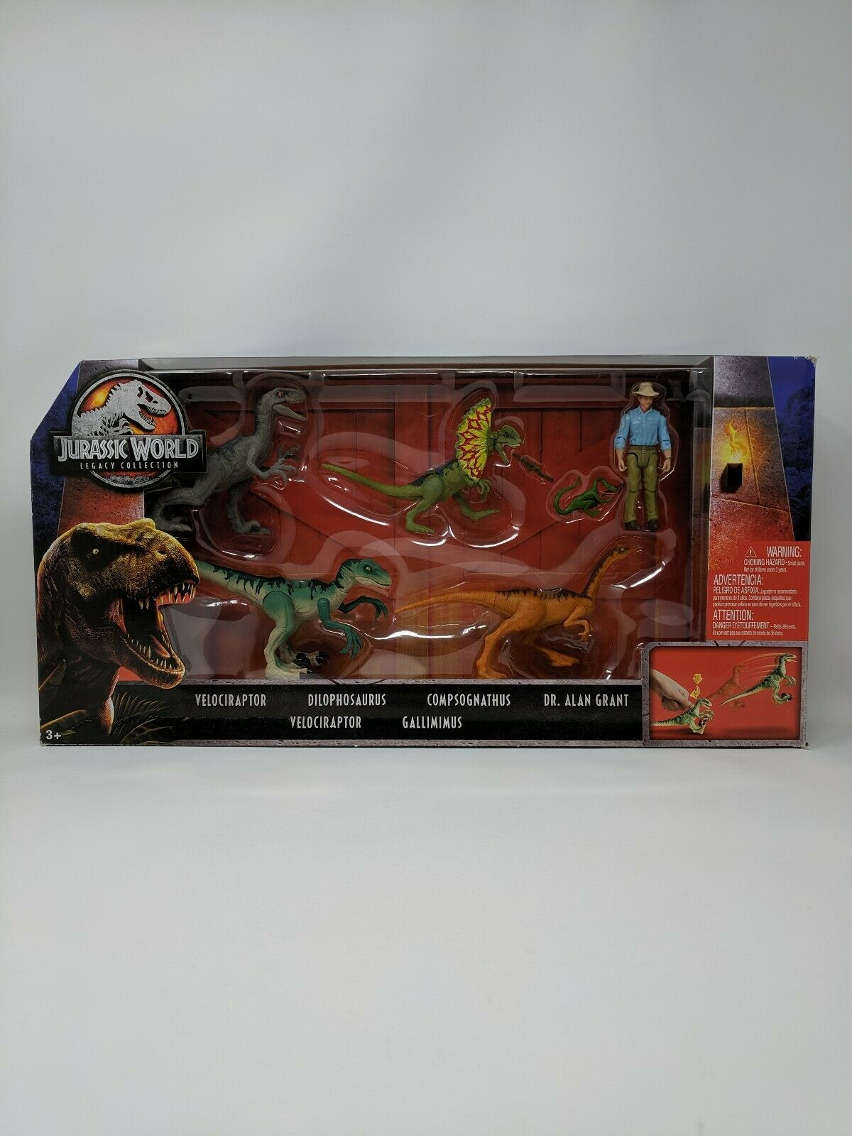 Jurassic World Legacy Collection 6 pack Target Exclusive