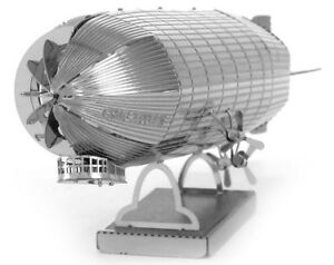 Fascinations-Metal-Earth-Graf-Zeppelin-Airship-3D-Laser-Cut-Steel-Model-Kit