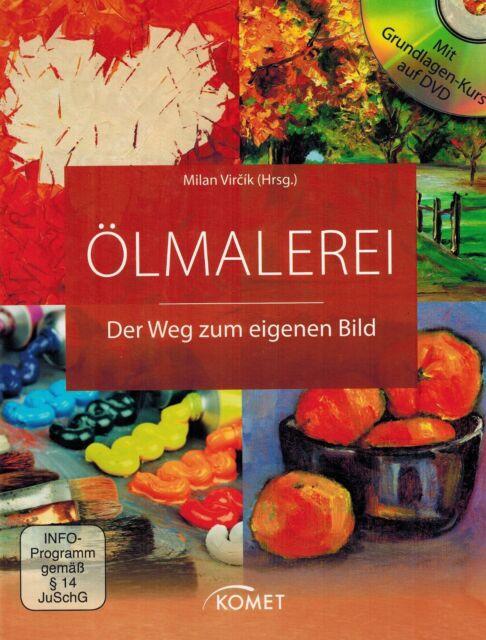 BUCH UND DVD - Ölmalerei - Der Weg zum eigenen Bild - Milan Vircik