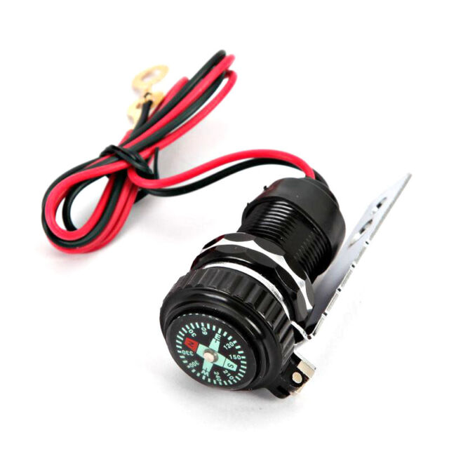 Bike B USB Charger Compass For Harley Sportster Nightster Roadster 1200