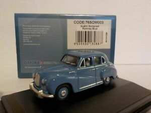 Model-Car-Austin-Somerset-Romney-Blue-1-76-New-OXF-76SOM003
