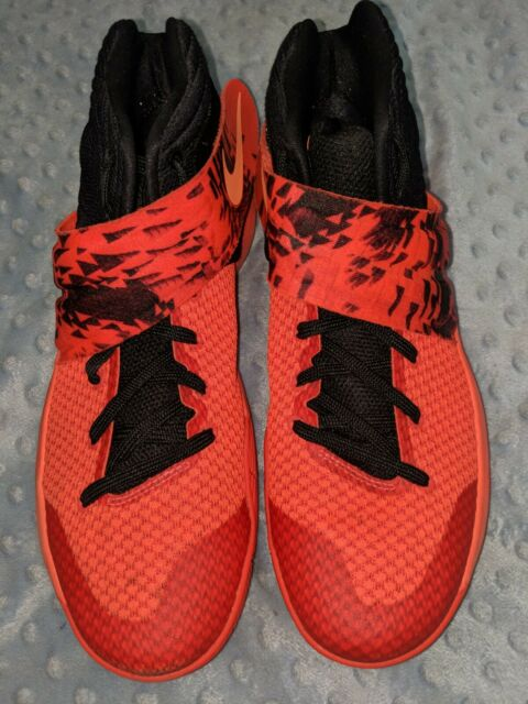 official photos 4c9a1 22fc6 Nike Kyrie 2 Sz 12 Bright Crimson Atomic Orange Inferno Edition ...