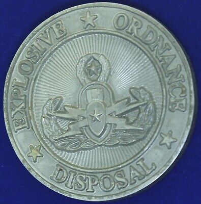 Explosive Ordnance Disposal EOD Army Navy Air Force Marine Challenge Coin