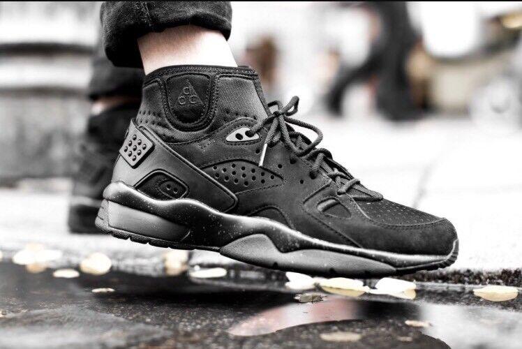2018 Nike ACG SZ Air mowabb og QS SZ ACG 8 triple Negro Retro botas 749492-018 nikelab el último descuento zapatos para hombres y mujeres 83eccc