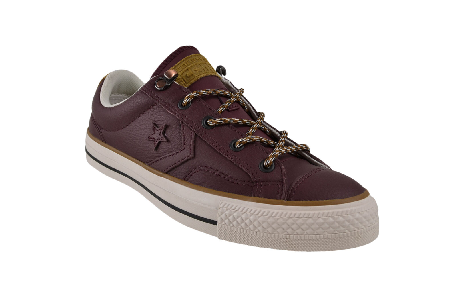 Los zapatos más populares para hombres y mujeres Converse Star Player Ox Deep burdeos Sneaker/zapatos rojo