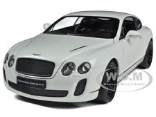 BENTLEY CONTINENTAL SUPERSPORTS WHITE 1:24 DIECAST MODEL CAR BY WELLY 24018