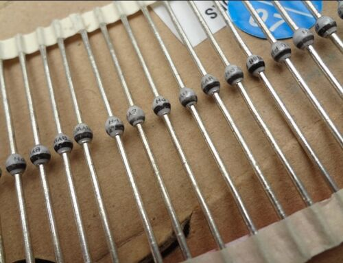 10pc PHILIPS BYW95B 400V 3A Fast Soft Recovery Avalanche Rectifier Diode #150 XH
