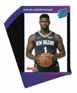 2019-20-Panini-Donruss-Retro-Rated-Rookie-Set-45-cards-Zion-Williamson-Ja-Morant