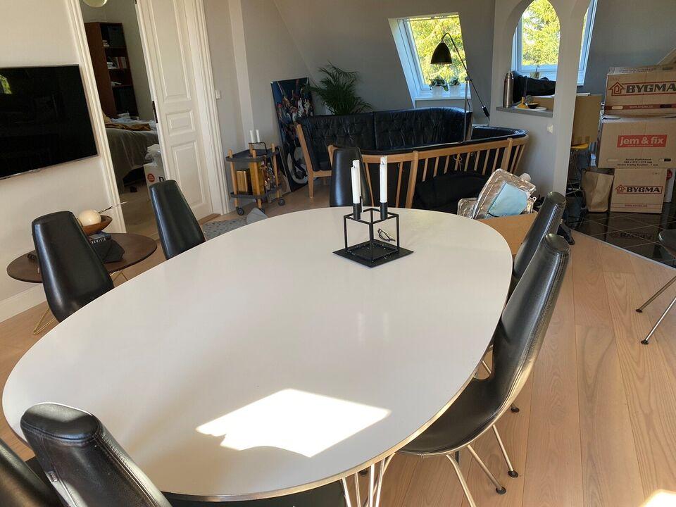 Spisebordsstol, Lædermat chrom, StokkeVarier Date – dba.dk