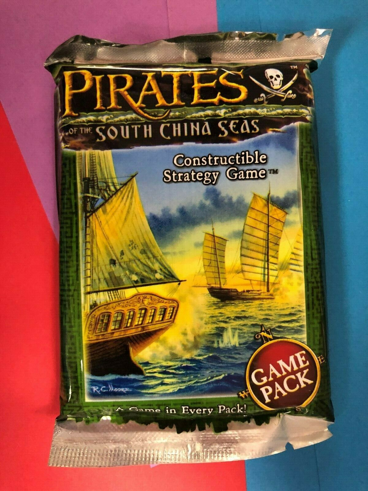 Pocketmodel CSG Game NEW Wizkids Pirates of the South China Seas Booster Pack