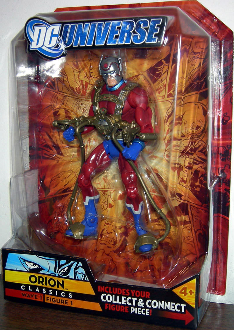ORION ( 6  ) VERY HARD TO FIND (  2007 ) DC UNIVERSE ( WAVE 1 ) azione cifra  1  vanno a ruba