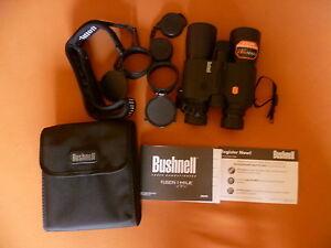 Bushnell fernglas fusion 1 mile arc 10x42 mit entfernungsmesser; ebay