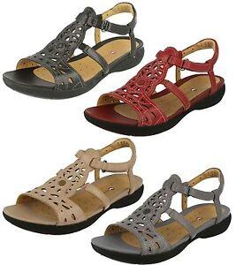 donna CLARKS aperti open toe sandali a T UN VALENCIA