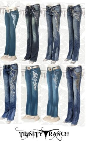 denim Hip di Ranch Jeans Hugger in Trinity elasticizzato 1xRnFUw