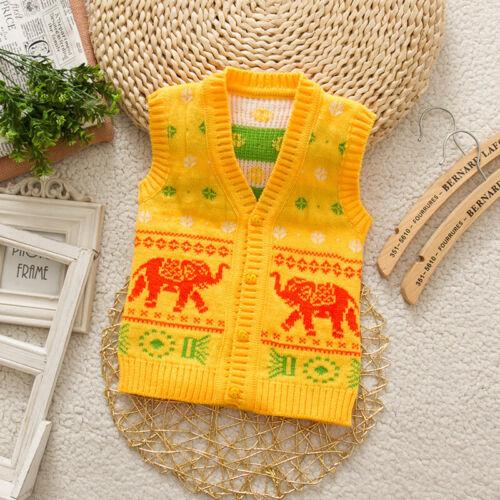 Newborn Baby Toddler Boy Girl Fashion Clothing Infant Cute Cardigan Sweater